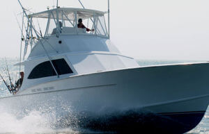 With a cruising speed of 24 knots Longer Days will get you on the fish quicker.